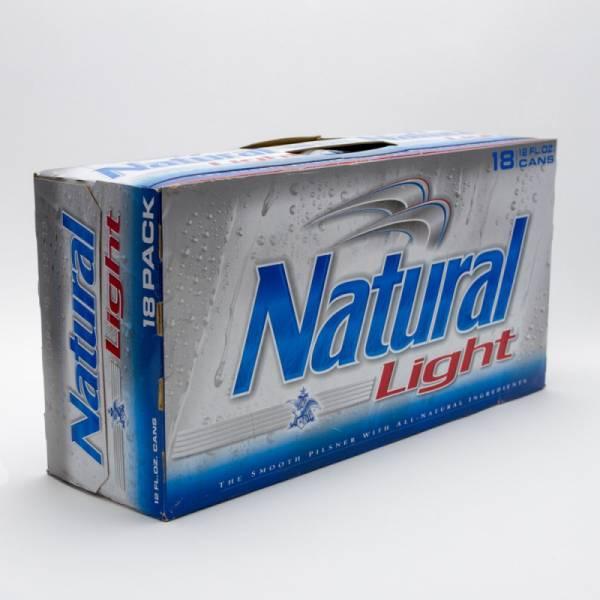 Natural Light - Beer - 12oz Can - 18 Pack