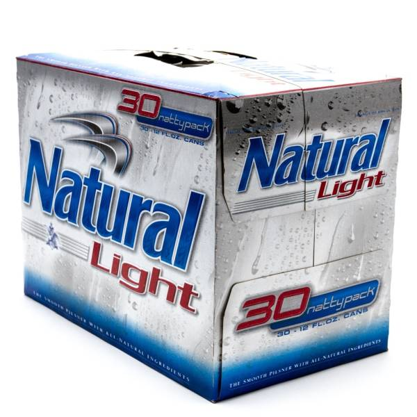 Natural Light - Beer - 12oz Can - 30 Pack