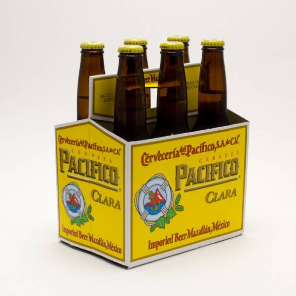 Pacifico - Imported Beer - 12oz Bottle - 6 Pack