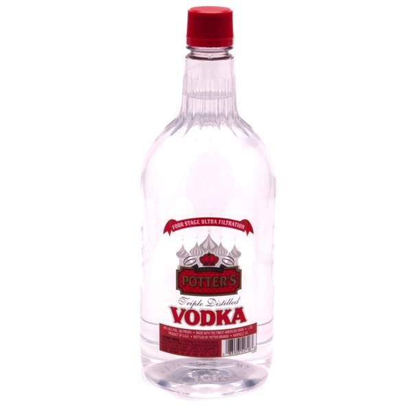 Potter's - Triple Distilled Vodka - 1.75L