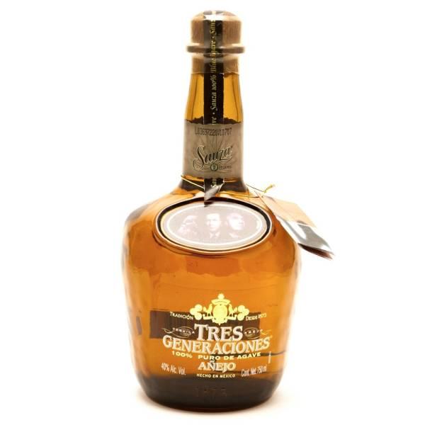 Sauza - Tres Generaciones Anejo Tequila - 750ml