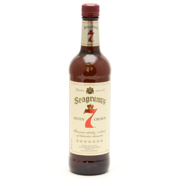 Seagram's - 7 Seven Crown American Blended Whiskey - 750ml