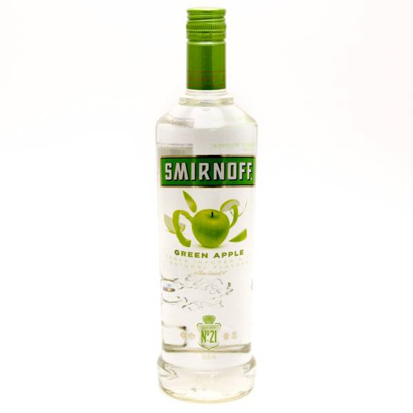 Smirnoff - Green Apple Vokda - 750ml | Beer, Wine and ...