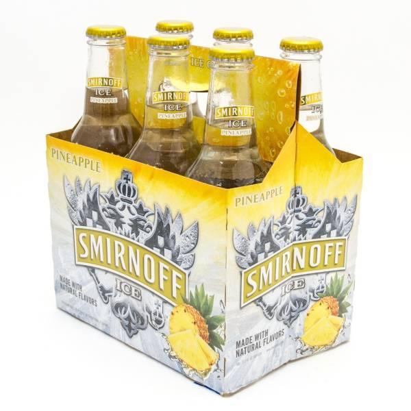 Smirnoff Ice - Pineapple - 11.2oz Bottle - 6 Pack