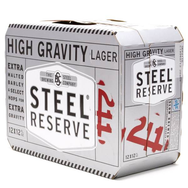 Steel Reserve - 211 High Gravity Lager - 12oz Cans -12 Pack