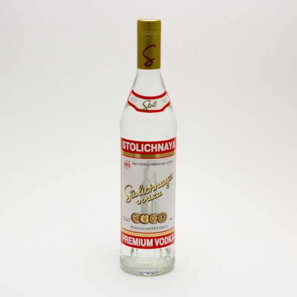 Stoli - Imported Vodka - 750ml