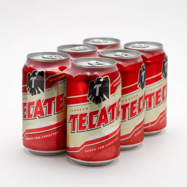 Tecate - Beer - 12oz Can - 6 Pack