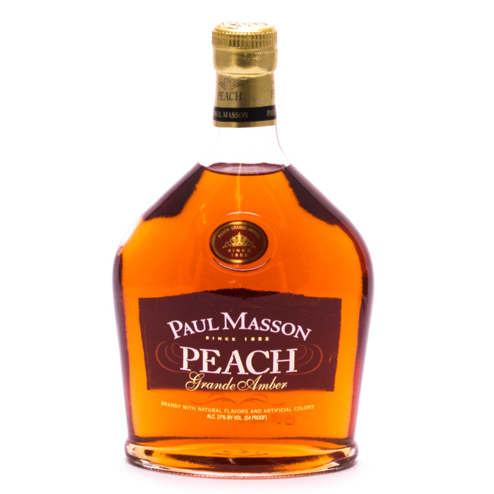 Paul Masson - Peach - Grand Amber  Brandy - 750ml