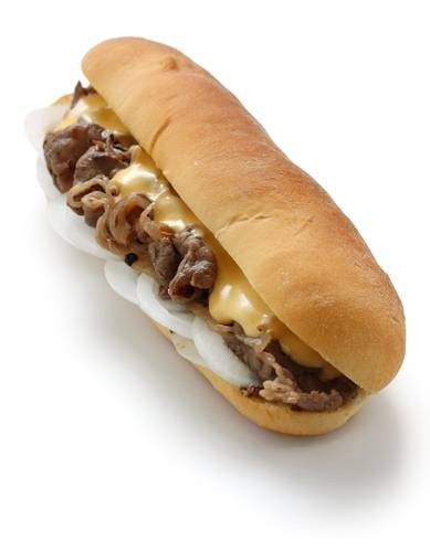 """Philly Cheese Steak - 6"""""""