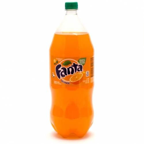 Fanta Orange 2 liter soda
