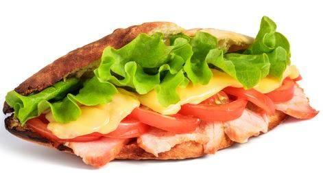 """Ham & Cheese - 10"""""""
