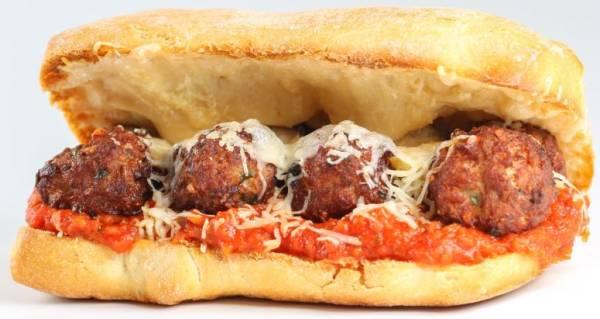 """Meatball Parmigiani - 10"""""""
