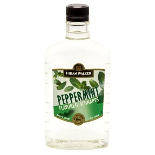Hiram Walker - Peppermint Schnapps - 375ml - 90 proof