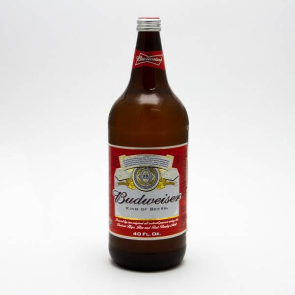 Budweiser - Beer - 40oz Bottle