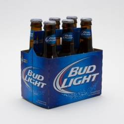 Bud Light - 7oz Bottle - 6 Pack