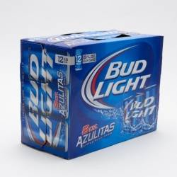 Bud Light - 8oz Can - 12 Pack