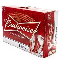 Budweiser - Beer - 8oz Can - 24 Pack