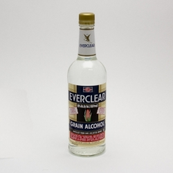 Everclear - Grain Alcohol - 750ml