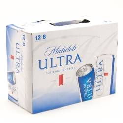 Michelob Ultra - 8oz Slim Can - 12 Pack