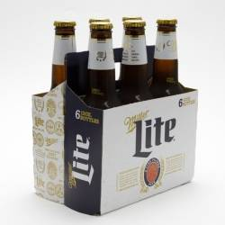 Miller - Lite Beer - 12oz Bottle - 6...
