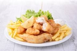 Fish & Chips - 3 piece