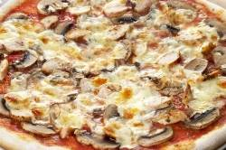 Chicken and Mushroom Pizza - 14""
