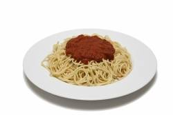 Spaghetti and Marinara