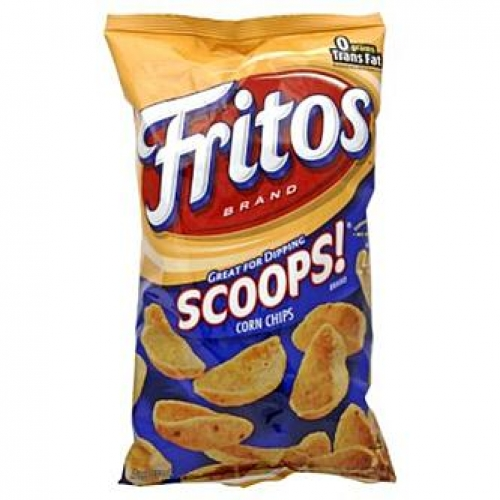 Fritos Scoops Corn Chips, 9.75 oz