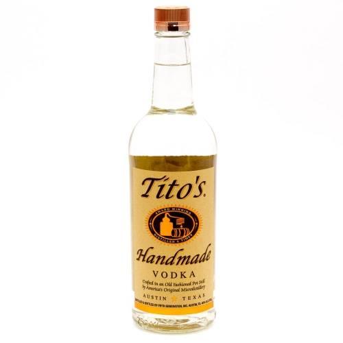 Tito's - Handmade Vodka - 750ml
