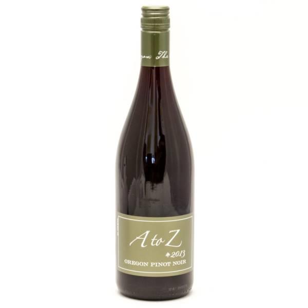 A to Z - 2013 Oregon Pinot Noir - 750ml