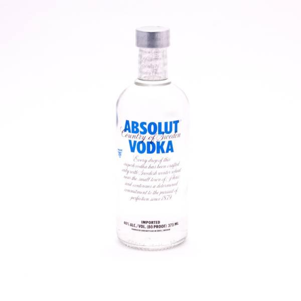 Absolut - Vodka - Blue 80 Proof - 375ml