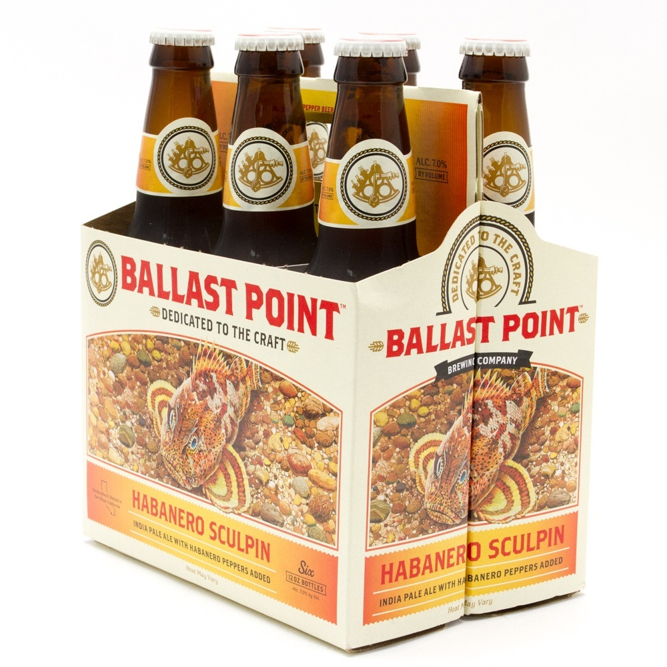 Ballast Point - Habanero Sculpin IPA - 12oz Bottles - 6 pack