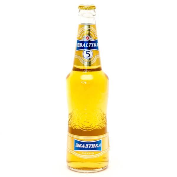 Baltika - Brewed in Russia Golden Lager Premium - 16.9oz Bottle