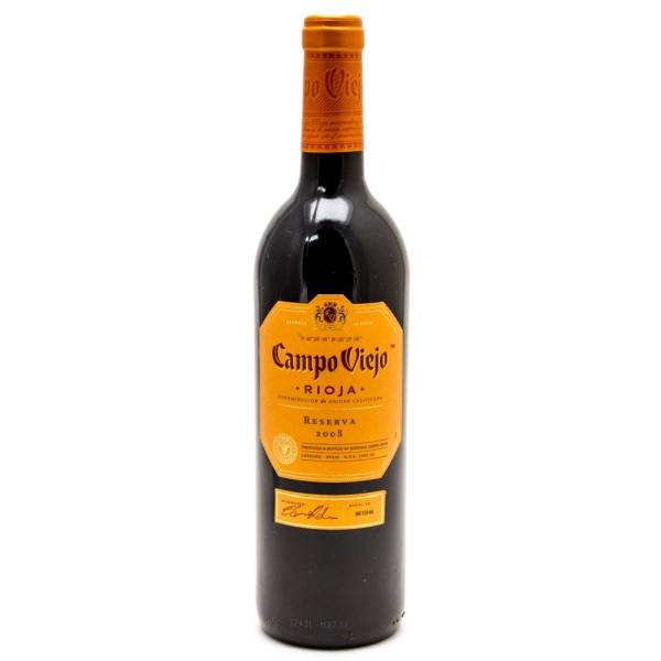 Campo Viejo - Rioja 2008 Wine - 750ml