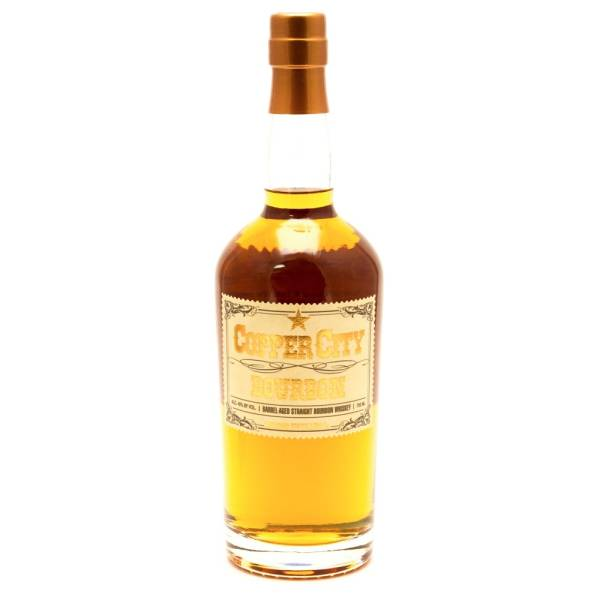 Copper City - Barrel Aged Straight Bourbon Whiskey - 750ml
