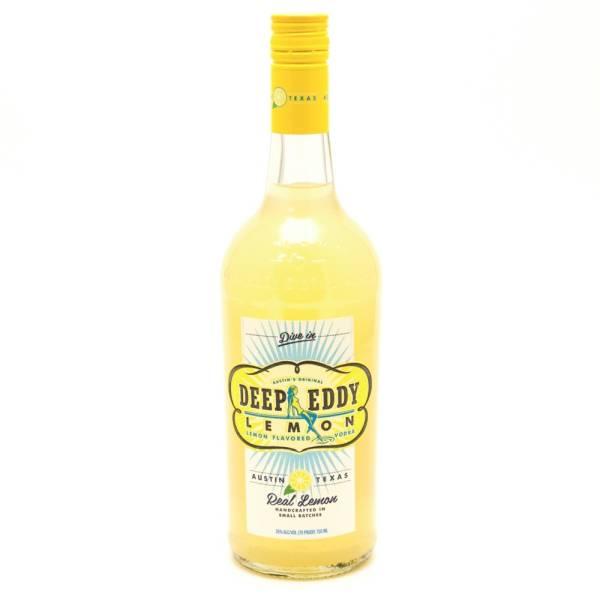 Deep Eddy - Lemon Vodka - 750ml