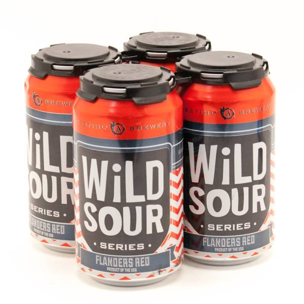 Destihl - Wild Sour - Flanders Red - 12oz Can - 4 Pack