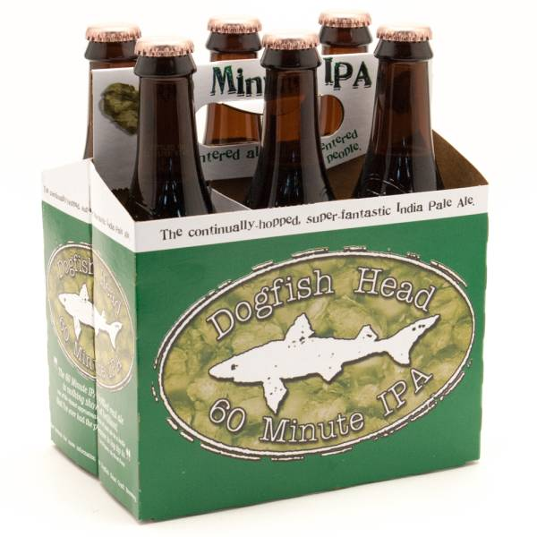 Dogfish Head - 60 Minute IPA - 12oz Bottle - 6 Pack