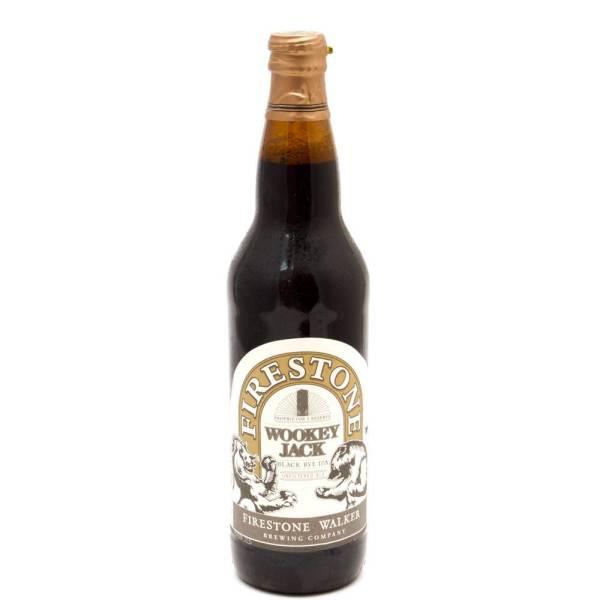 Firestone Walker - Wookey Jack Black Rye IPA - 22oz Bottle