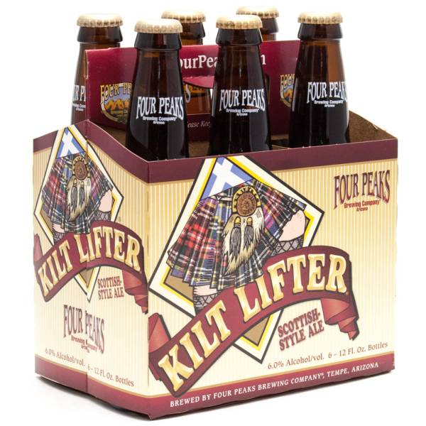 Four Peaks - Kilt Lifter Scottish Style Ale - 12oz Bottle - 6 Pack