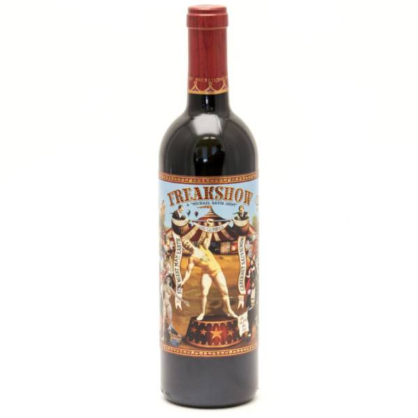 Freakshow - Strongest Man on Earth - Cabernet Sauvignon - 750ml