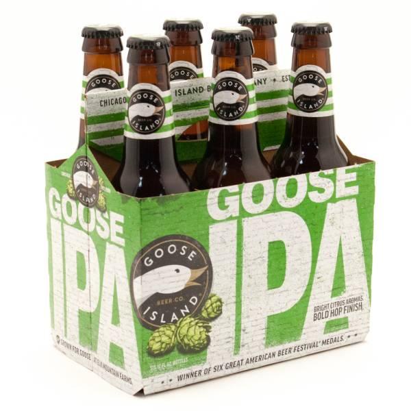Goose Island - Goose IPA - 12oz Bottle - 6 Pack