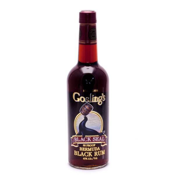 Gosling's - Black Seal Black Rum - 750ml