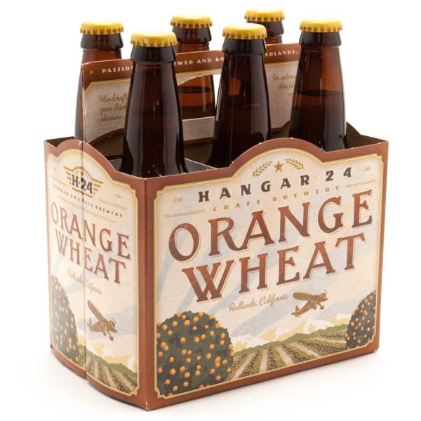 Hangar 24 - Orange Wheat Beer - 12oz Bottle - 6 Pack