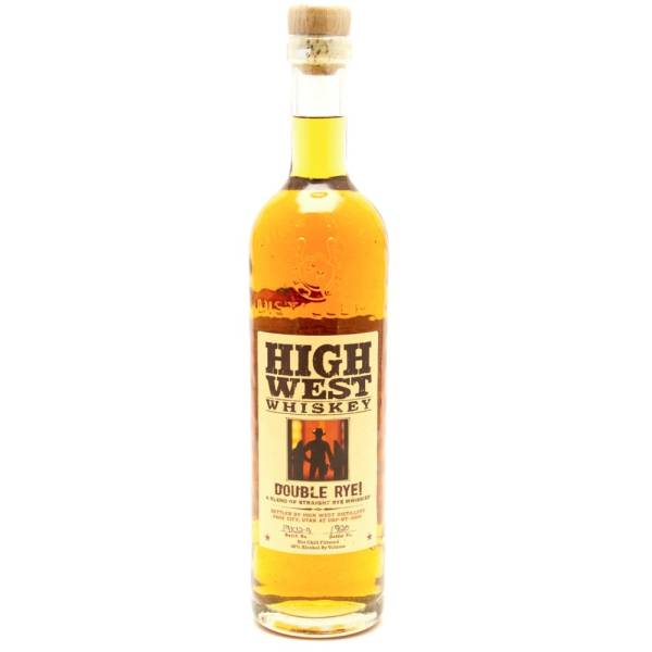 High West - Whiskey Double Rye - 750ml