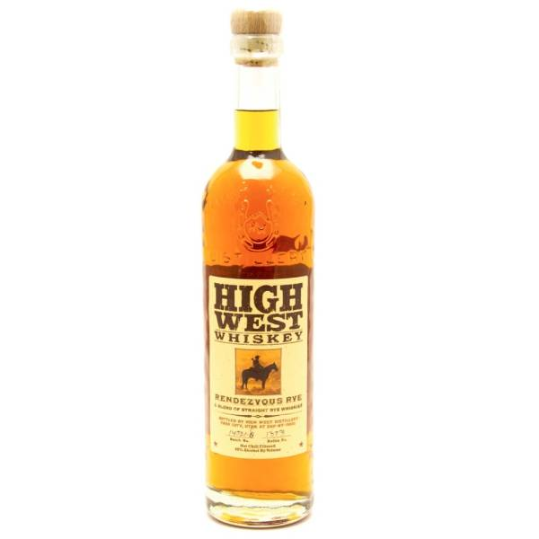 High West - Whiskey Rendezvous Rye - 750ml
