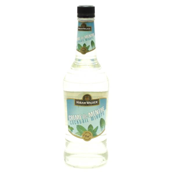 Hiram Walker - Creme de Menth Cocktail Mixers - 750ml