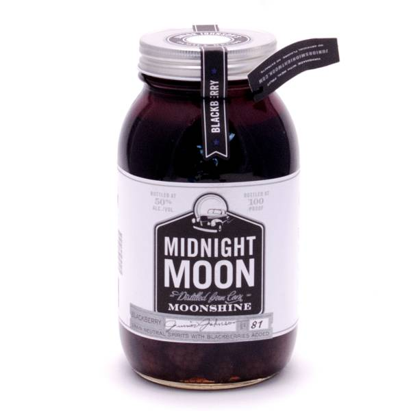 Midnight Moon - Moonshine Blackberries - 100 Proof - 750ml