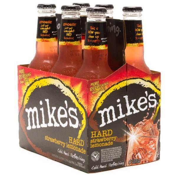 Mike's - Hard Strawberry Lemonade - 12oz Bottle - 6 Pack