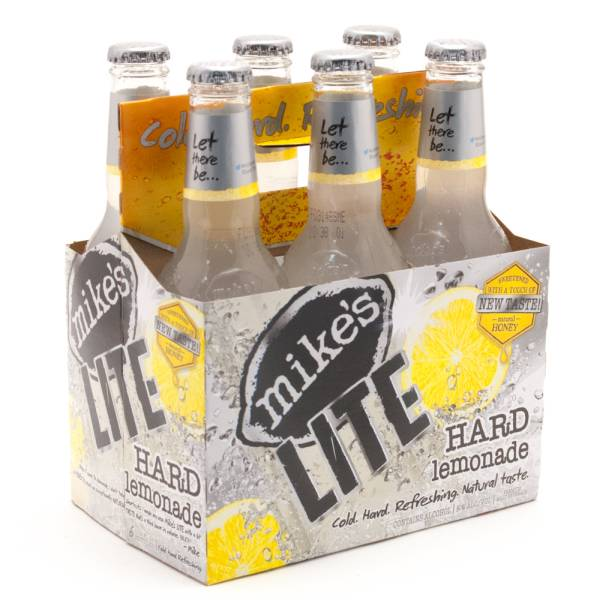 Mike's - LITE Hard Lemonade - 11.2oz Bottle - 6 Pack
